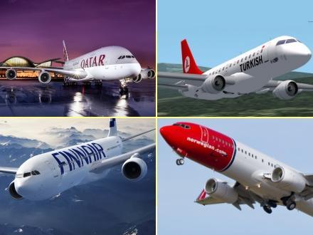 Bedste flyselskaber 2015