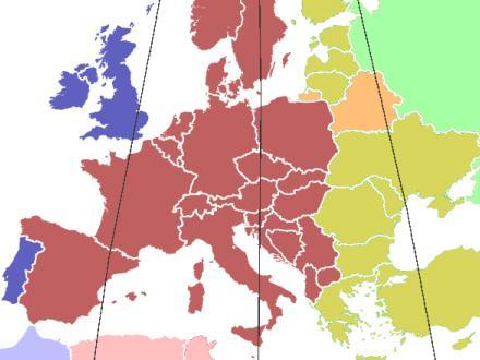 Spanien Har Forkert Tidszone Spanien I Dag