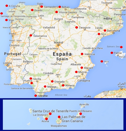 Spanske Lufthavne Gar Efter Danmark Spanien I Dag