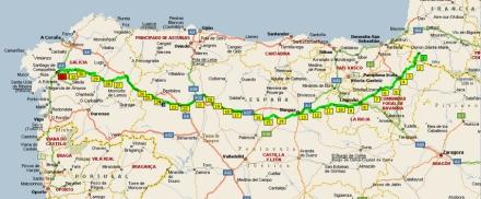 Caminoen 799 Km I Korestol Pa Ni Dage Spanien I Dag