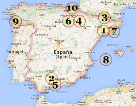 Ta Hunden Med Pa Ferie Spanien I Dag