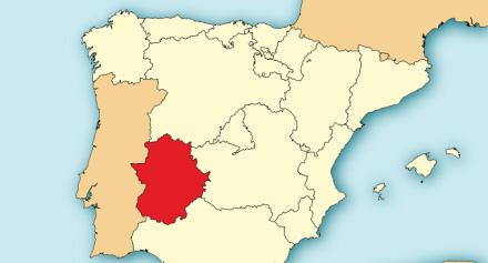 Den Glemte Region Spanien I Dag